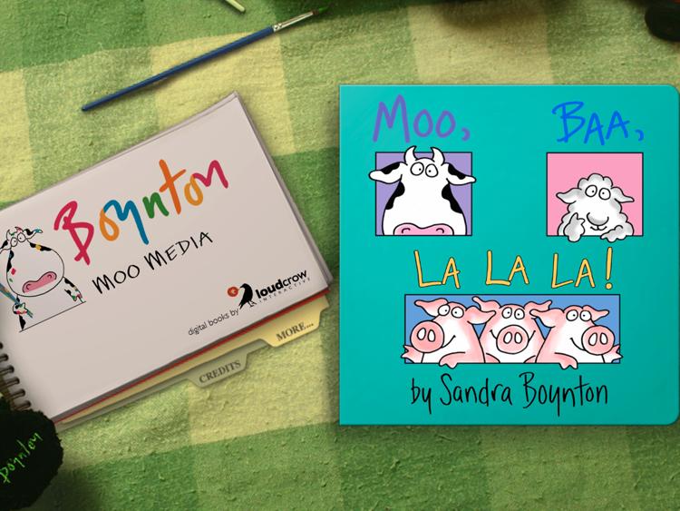 Kids' Book Review: App Review: Moo, Baa, La, La, La!