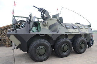6 Wheeled Armoured Vehicle