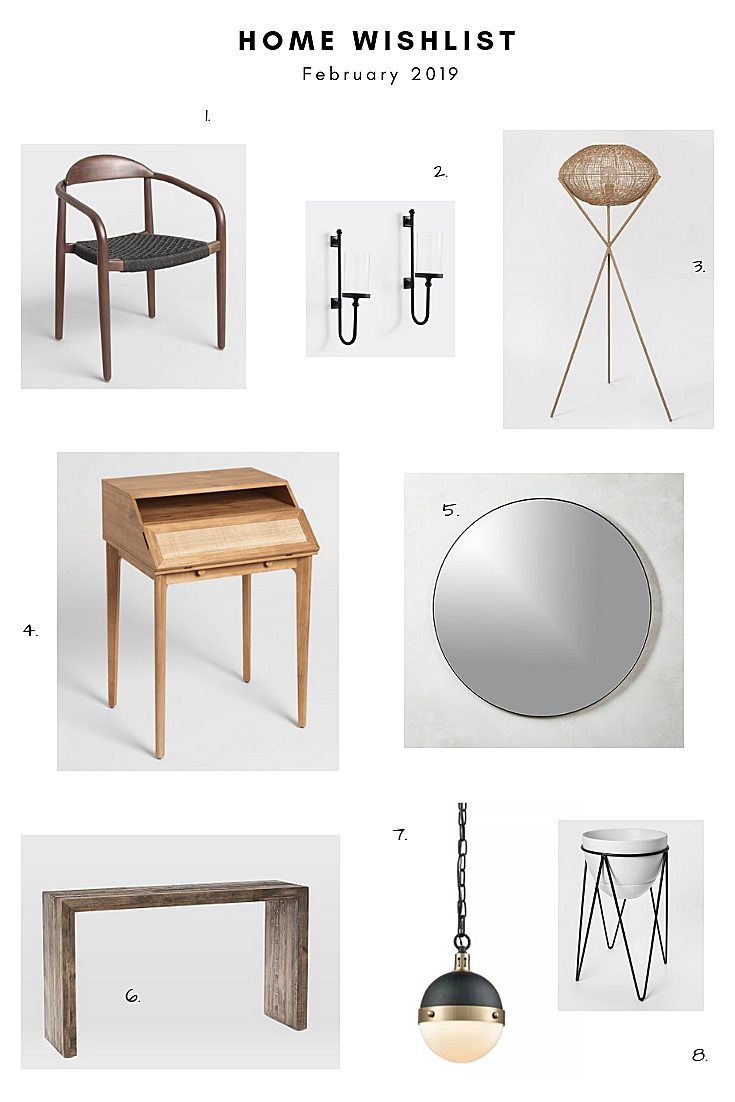 February Home Wishlist