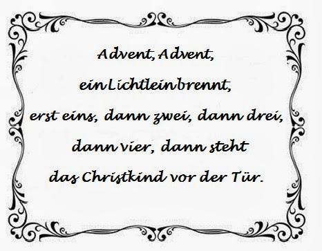 Ein Kleiner Blog Advent Advent