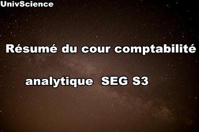 Résumé du cour Comptabilité Analytique SEG S3