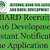 NABARD Recruitment 2017 - 108 Vacancies (Grade A and B)