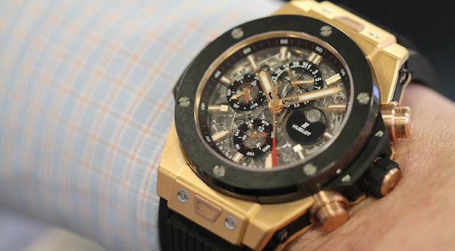 Replique Hublot Big Bang Chrono Perpetual Calendar Montre La Revue