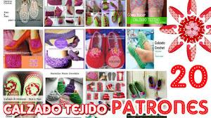 20 Modelos de calzado para tejer / Colección de patrones y tutoriales