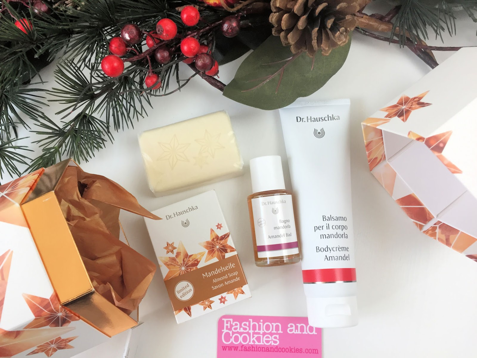"Idee regalo Natale: cofanetto edizione limitata Dr. Hauschka ""Mandorle vellutate"" su Fashion and Cookies beauty blog, beauty blogger"
