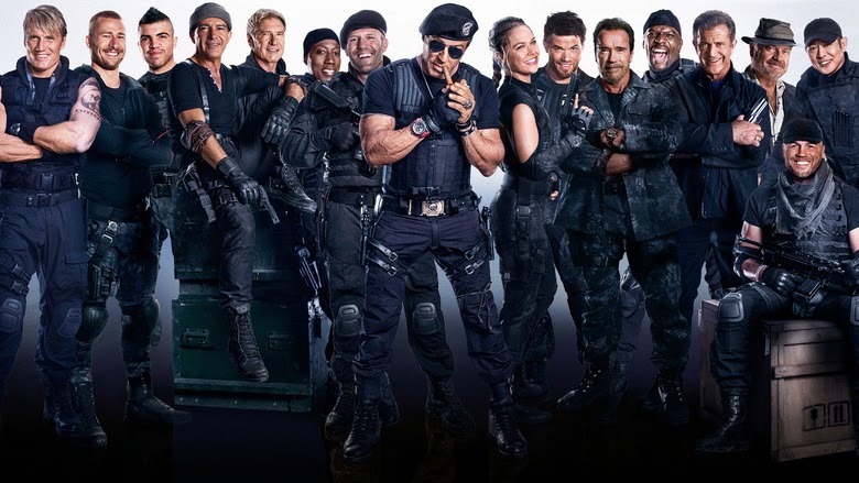 Free Download HD Movies: The Expendables 3 Dual Audio 720p