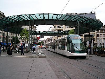 Los tranvías de Estrasburgo