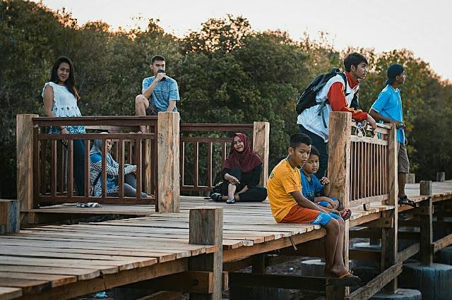 Spot Foto Epic Wisata Hutan Mangrove Kampung Blekok