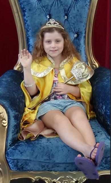 Princess of the Parade at Movie World