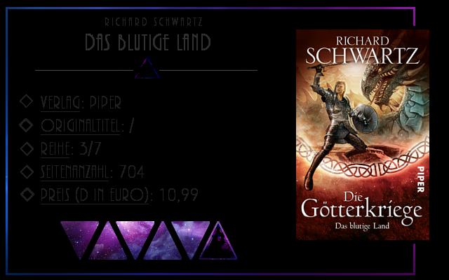 [Rezension] Die Götterkriege: Das blutige Land - Richard Schwartz