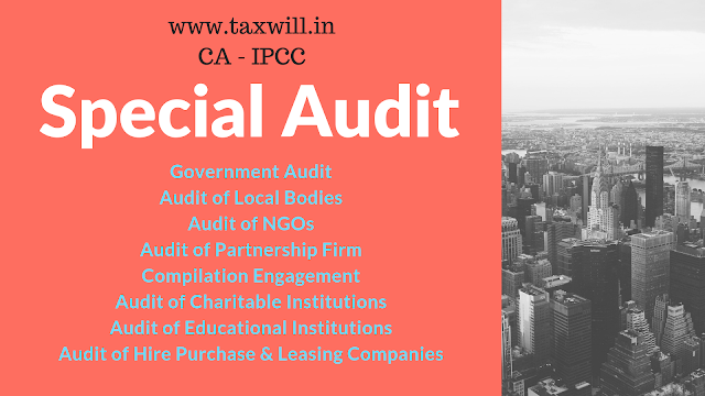 CA IPCC Chapter - Special Audit Very important Chapter