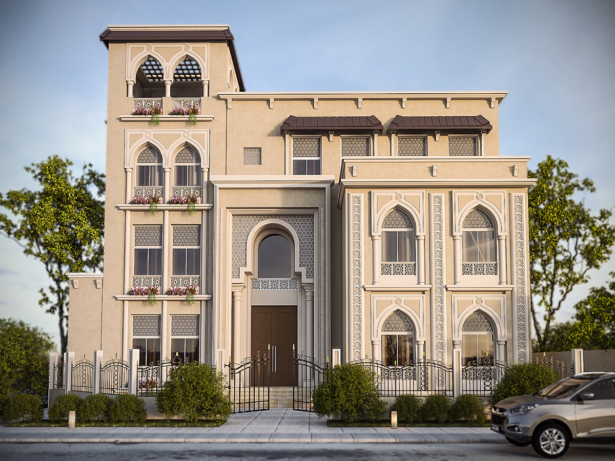 Best arabic house 28 images 17 best images about for Arabic home designs