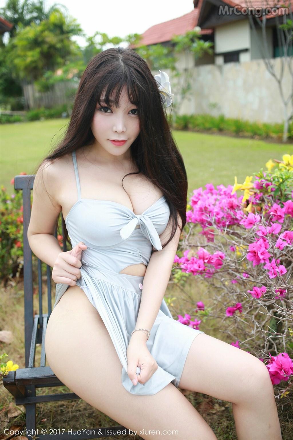 Image HuaYan-Vol.038-Booty-Zhizhi-MrCong.com-007 in post HuaYan Vol.038: Người mẫu Booty (芝芝) (53 ảnh)