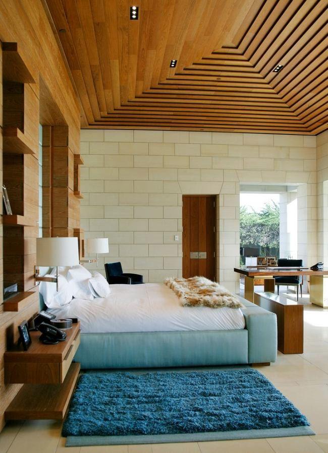 dormitorio techo decorado
