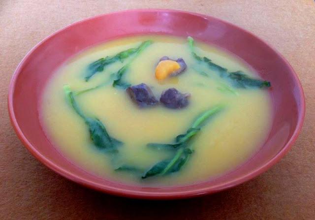 Sopa de Grelos com Linguiça Transmontana