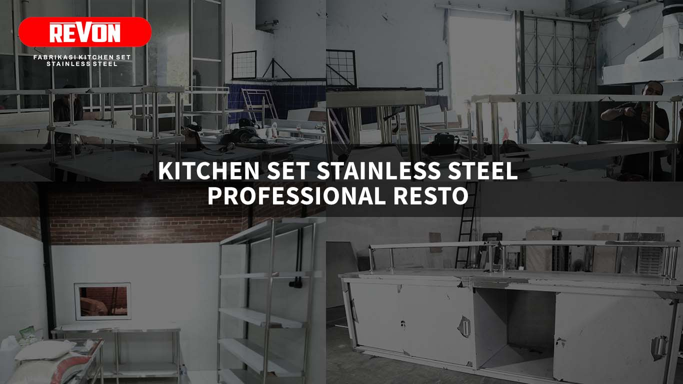 Kitchen Set Stainless Steel Resto