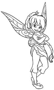 pixie hollow fira coloring pages | Cartoon Design: July 2011