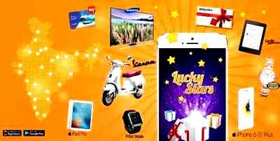 Lucky Stars Refer and Earn Paytm Cash