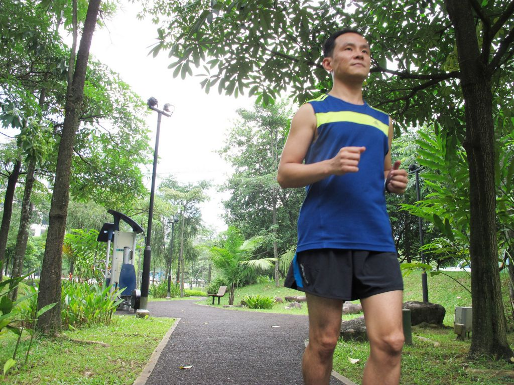 Avid runner competing in Safra S'pore Bay Run & Army Half Marathon, 4 years after deadly diagnosis
