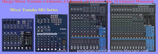 Harga Mixer Audio Sound System Rental