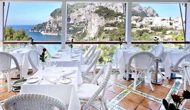 Restaurante Terrazza Brunella em Capri