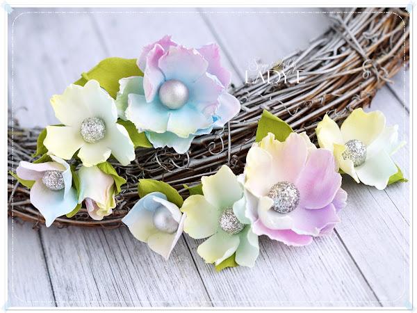 Fairytale Foamiran Flowers
