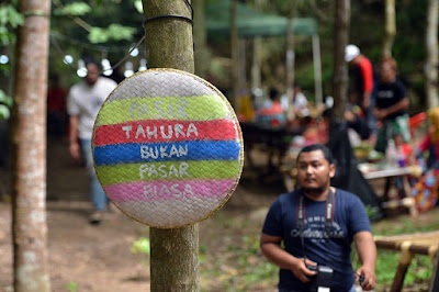 Kini Ada Atraksi Pasar Tahura di Youth Camp Wan Abdul Rahman Pesawaran