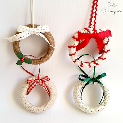 Festive Homemade Ornaments