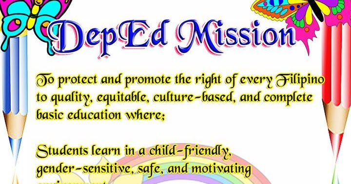 Bulletin Deped Mission Deped Tambayan Ph