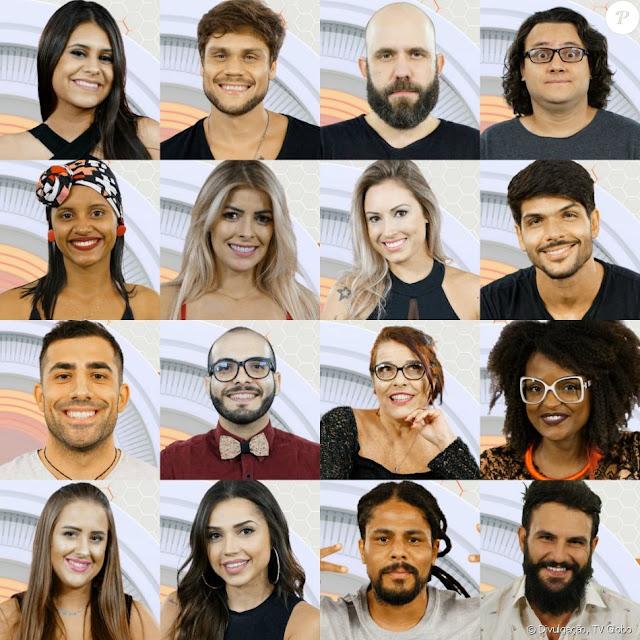 Saiba quem são o participantes do BBB 2018