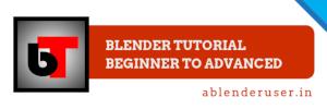 Blender Tutorial   Beginner to Advanced