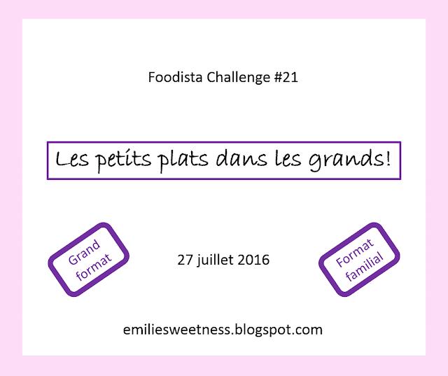 Annonce de la nouvelle marraine du Foodista Challenge #22