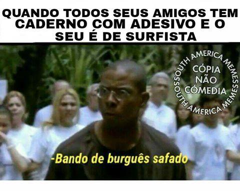 """Imagens """"Bando de Burguês Safado"""" para WhatsApp e Facebook"""