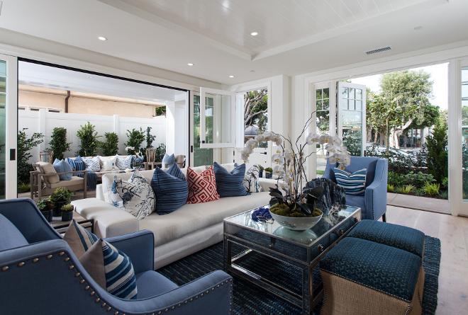 Blanco interiores sonho para fim de semana - Pictures of blue and white living rooms ...