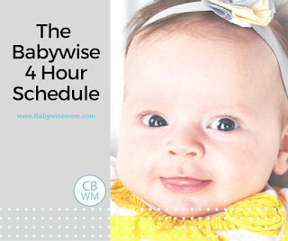 The Babywise 4 Hour Schedule