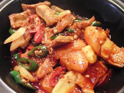 Makanan khas Semarang babat gongso