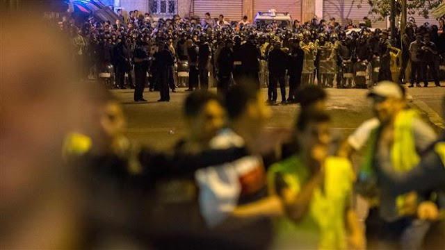 Thousand protest arrest of activist in Morocco