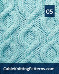 Cable Knitting 05 - Free Pattern. Skill level: Intermediate knitter.