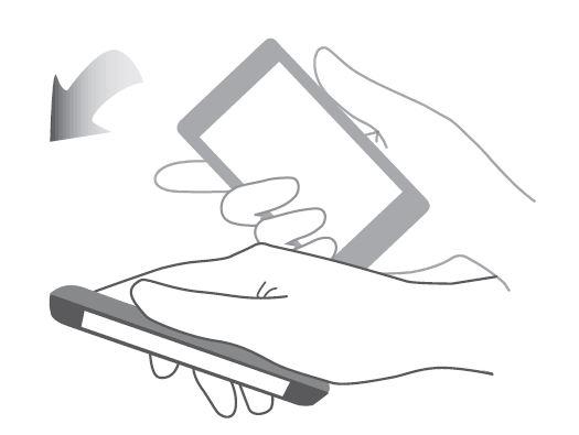 gesture honor capovolgere disattivare suoneria audio