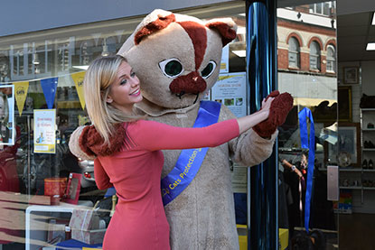 Rachel Riley at our Southend-on-Sea shop