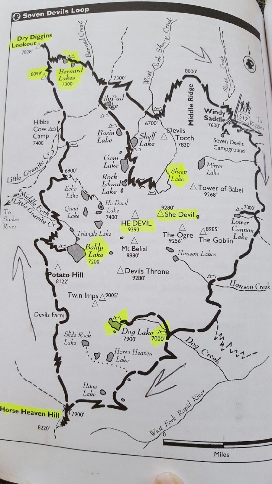 The Granola Chronicles : Seven Devils Loop