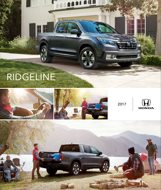Downloadable 2017 Honda Ridgeline Brochure from RiverTown Honda