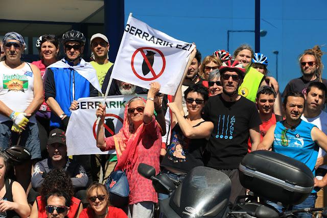 Marcha ciclista antimilitar de 2017
