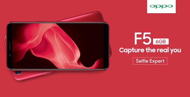 OPPO F5 Red Resmi Dijual di Indonesia