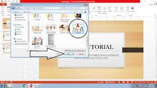 Cara Memasukkan Foto Atau Gambar Ke Dalam Slide Presentasi Power Point 2013