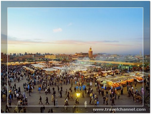 Marrakech, Morocco - 10 Amazing Best Place to Travel and Escape World