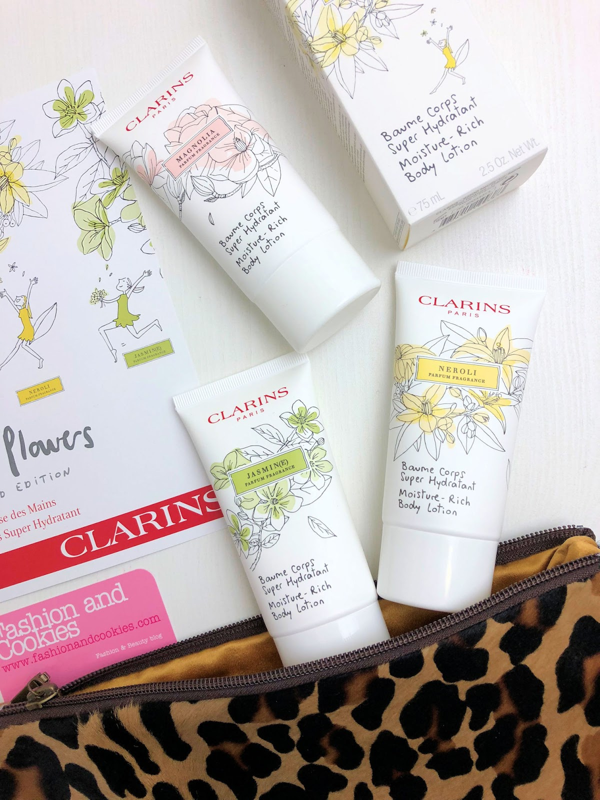 Clarins White Flowers limited edition su Fashion and Cookies beauty blog, beauty blogger