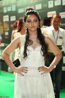Meghana Gaur in a Deep Neck Sleeveless White Gown at IIFA Utsavam Awards 046.JPG
