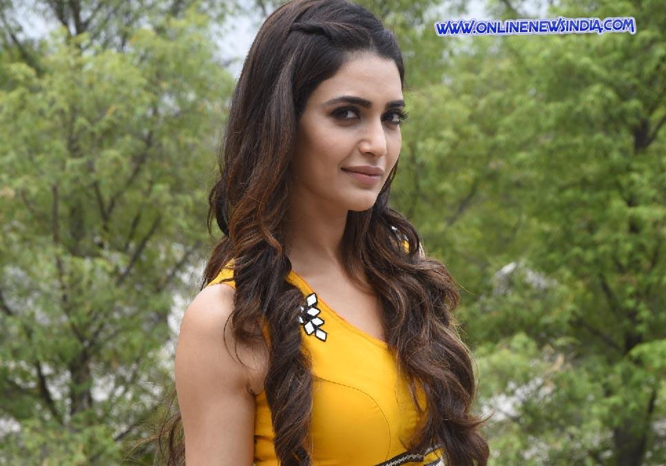 Actress Karishma Tanna