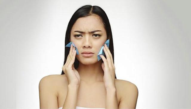 Mengurangi Minyak pada wajah